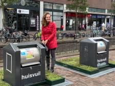 Mini-tuintjes moeten voorkomen dat inwoners van Houten afval naast container dumpen