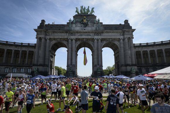 Gisteren liet één deelnemer aan de 20km door Brussel het leven
