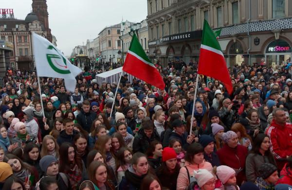 In Kazan strijden de inwoners voor hun eigen taal: 'Tataren zullen zichzelf nooit Russen noemen'