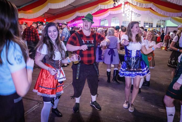 Na jaren werd er weer een Oktoberfest georganiseerd op het Eeserwold.
