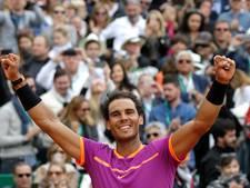 Nadal pakt unieke tiende titel in Monte Carlo