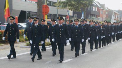 Korps uit Bornem neemt op  indrukkwekkende manier afscheid van brandweerman 'Jolle' Pauwels