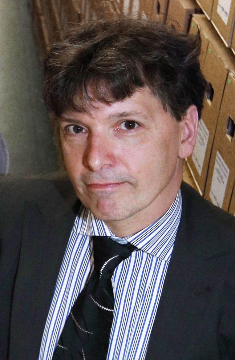 OBA-directeur Martin Berendse wil het nieuwe filiaal in Bos en Lommer zo snel mogelijk openen. Beeld Frank Jansen
