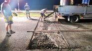Na omhoog gekomen asfalt E403: snelweg sinds zaterdagmiddag weer volledig open