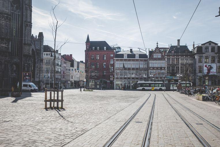 Lege Korenmarkt, Gent.