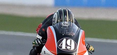 Waninge in 2018 met twee rijders in Moto2
