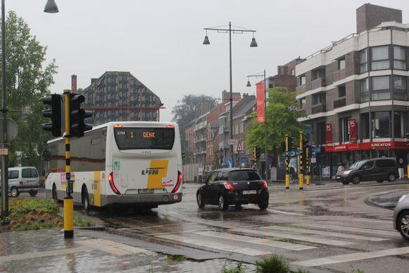 De verkeerslichten op enkele drukke kruispunten vielen uit