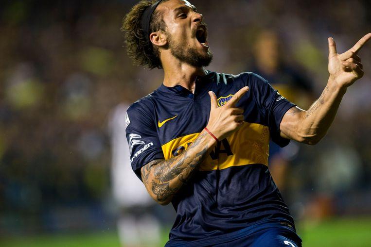 'Dani' Osvaldo voetbalde in 2016 bij Boca Juniors totdat hij aankondigde een muzikale carrière te gaan beginnen.