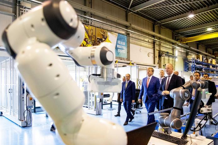 AWL is een wereldspeler geworden met gerobotiseerde lasmachines en onderzoekt mogelijkheden om daarnaast het logistieke proces in bedrijven te automatiseren.