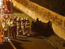 A12 weer vrij na chaos door botsing, zeker twee gewonden