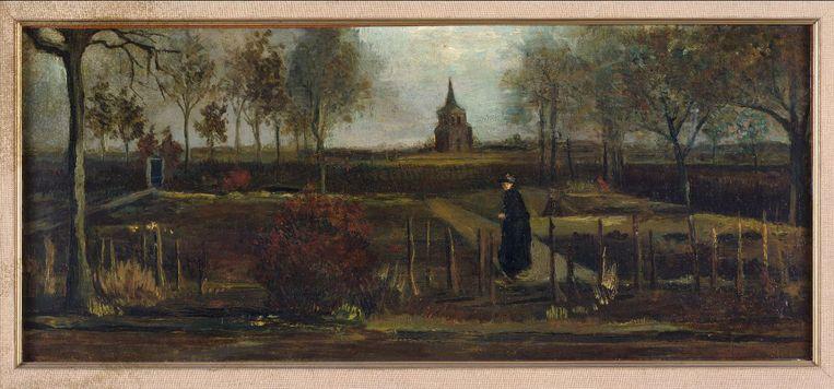 Lentetuin, de pastorietuin te Nuenen in het voorjaar. Beeld via Reuters