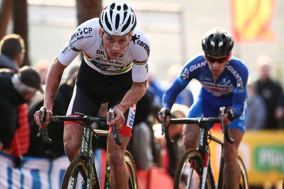 Matthieu Van Der Poel is twijfelachtig voor de BinckBank Tour.