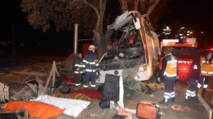 Elf doden bij ongeval met toeristenbus in Turkije