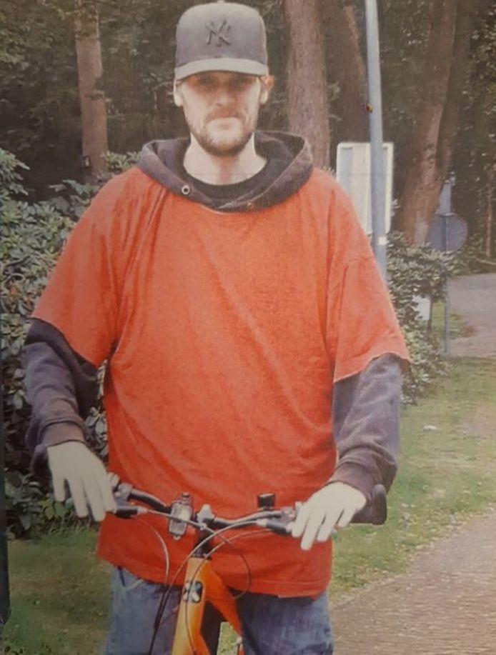 De foto die de politie heeft verspreid in de hoop Roy Daman snel terug te vinden.