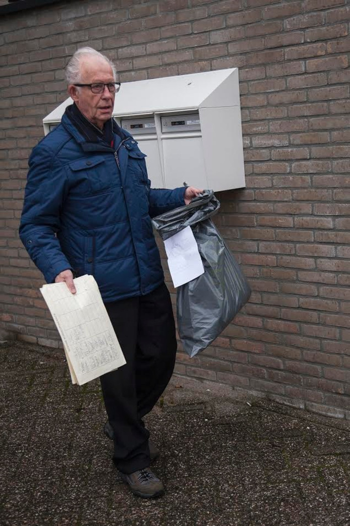 Ad van Haren, vrijwilliger SWOA.
