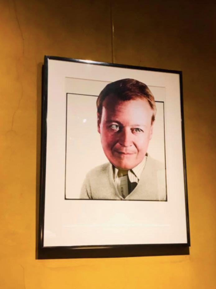 Volgens de actievoerders hangt Christophe Peeters nu vooral rond in café Den Turk