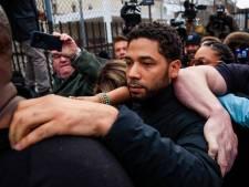 Empire-acteur Jussie Smollett na 'verzonnen aanval' op borgtocht vrij en terug op de set