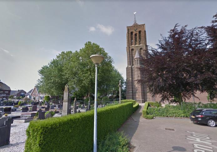 De kerk in Azewijn.