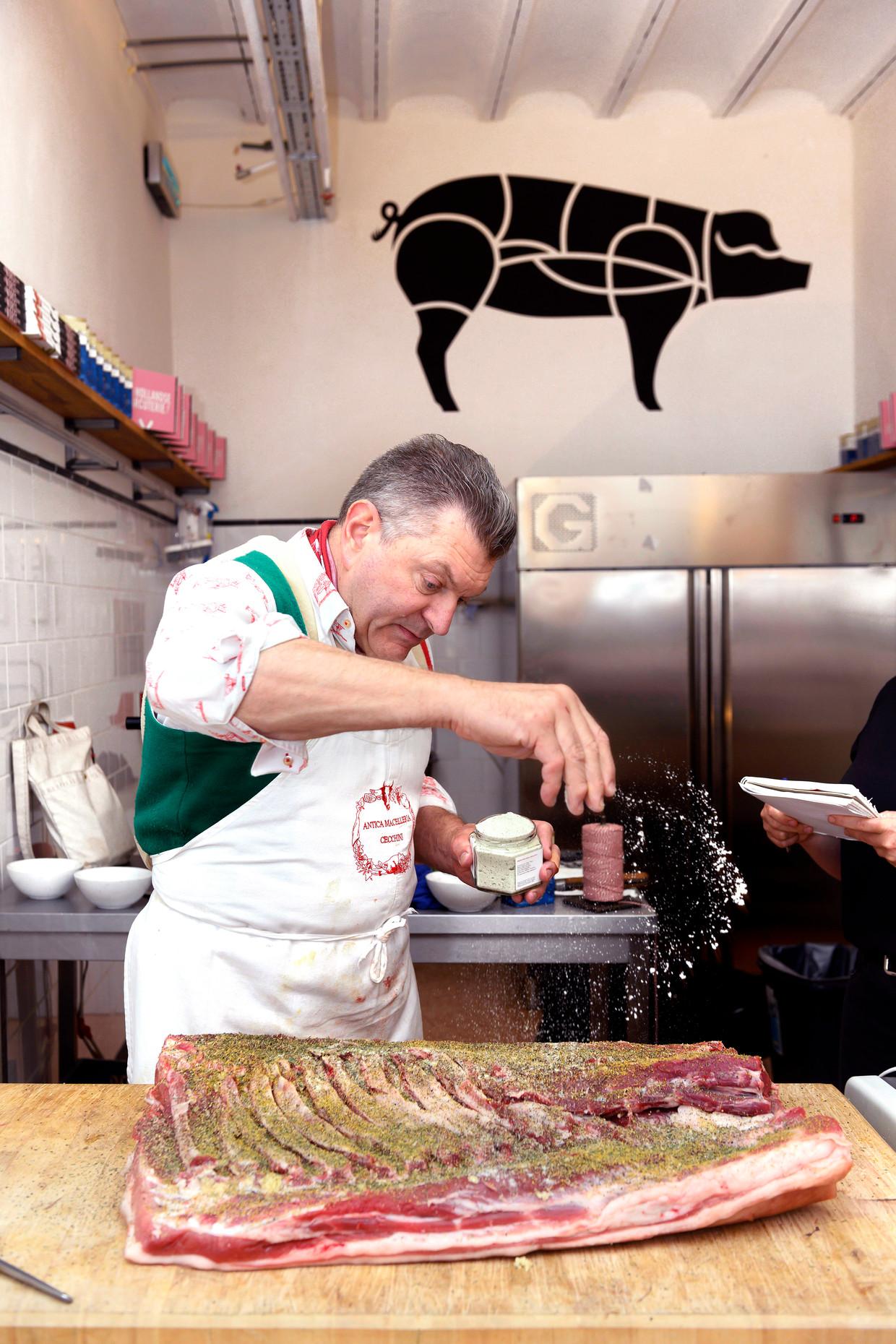 Dario Cecchini bij Brandt & Levie.