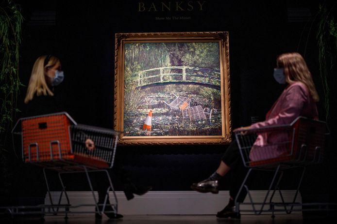 Het kunstwerk is verkocht voor 8,5 miljoen euro.