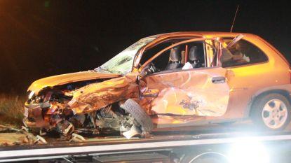 Twee zwaargewonden bij ferme klap onder brug in Heirweg, één bestuurder reed onder invloed