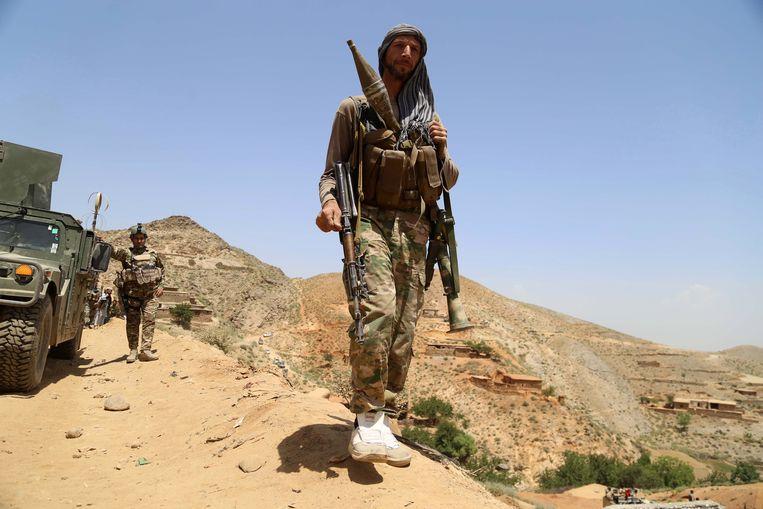 Afghaanse troepen