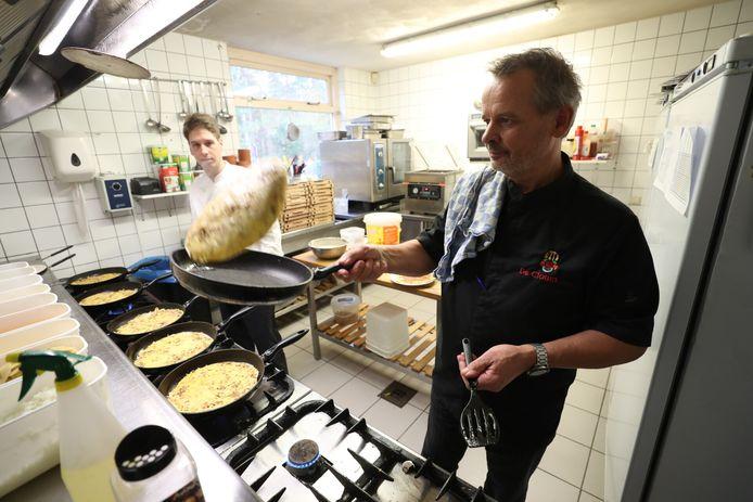 Er worden weer volop pannenkoeken 'geflipt' in de keuken van De Clown.