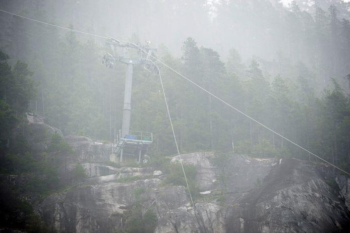 De 'Sea to Sky'-kabelbaan in Squamish is gesaboteerd.