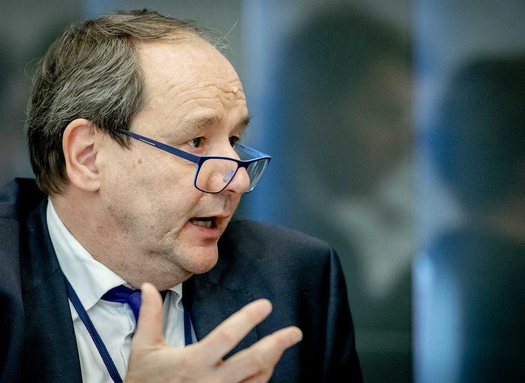 Staatssecretaris Hans Vijlbrief (financiën). Beeld ANP