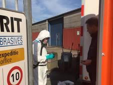 Omgevingsdienst: geen asbest rond terrein Eurogrit