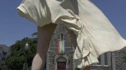 Video: Ophef over Marilyn Monroe's gigantisch slipje