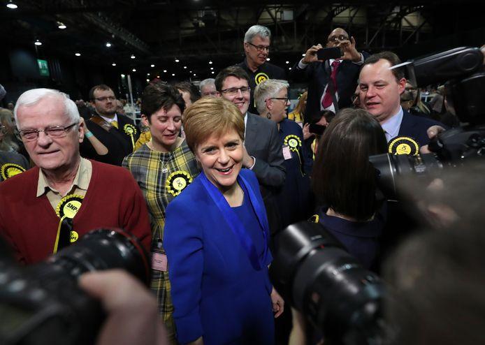 La Première ministre écossaise Nicola Sturgeon.