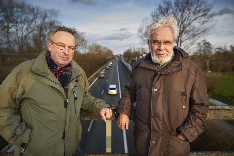 Links Martin Kroon, rechts zijn broer Arie. Beeld Phil Nijhuis