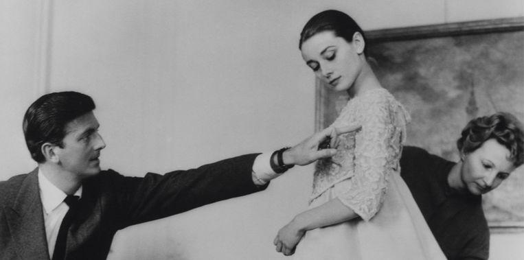 Hubert de Givenchy en Audrey Hepburn.