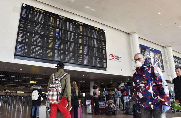 Op Zaventem landen vandaag nog twee vluchten uit Madrid.
