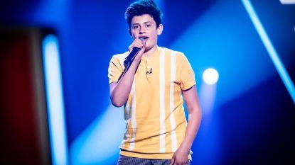 Studio 100-talent Wannes Lacroix (16) komt thuis in The Voice