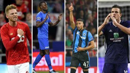 Nieuw op HLN.be: onze selectie van de vijf mooiste doelpunten per club