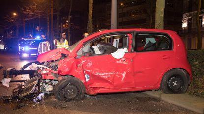 Chauffeur botst met glaasje te veel op