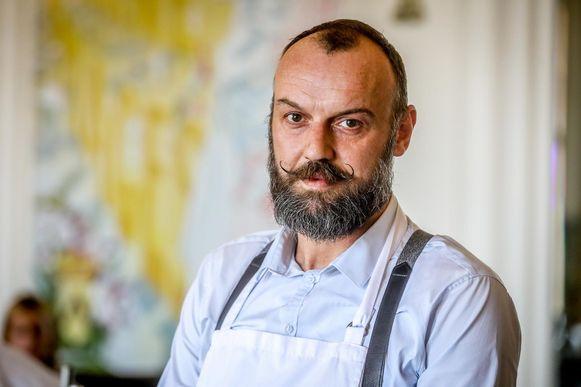 De nieuwe kok van Brasserie Albert, Vincent Florizoone.