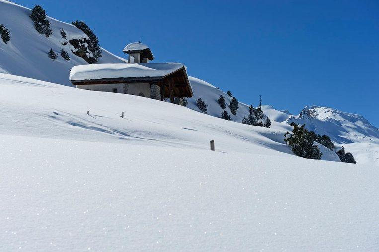 Vals, Zwitserland Beeld Graubünden Ferien