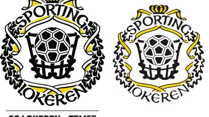 Zoek de verschillen: nieuw logo van fusieclub SC Lokeren-Temse toont wel erg veel gelijkenissen met oude logo van Sporting Lokeren