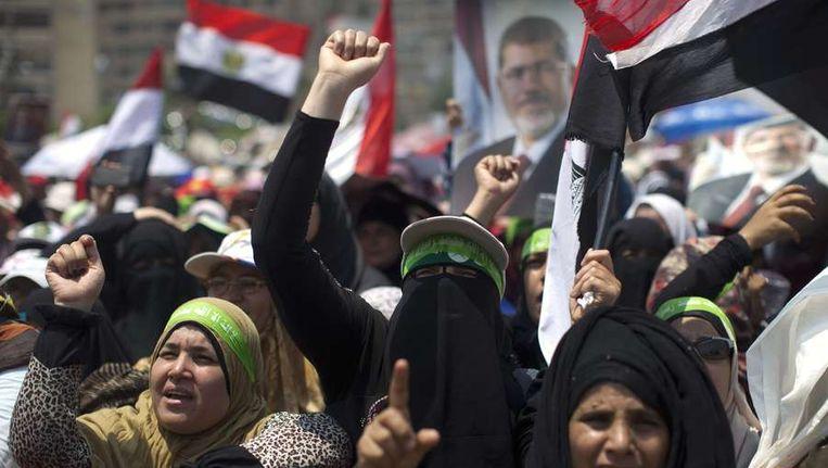 Aanhangers van Morsi Beeld ANP