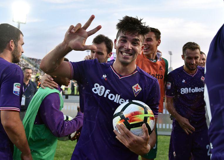 Giovanni Simeone scoorde drie keer.