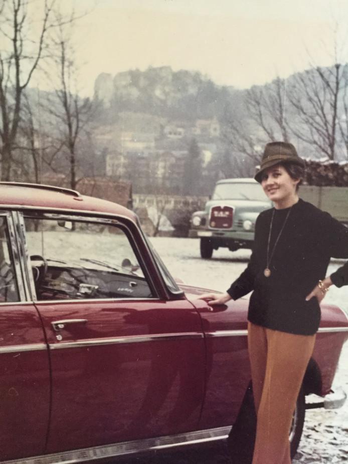 Op vakantie met de auto in de jaren zestig.