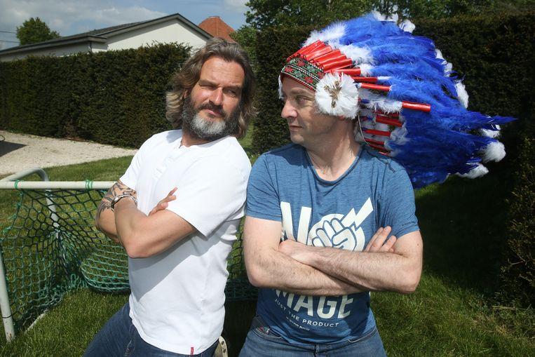 Buffalo Kurt Burgelman en Miguel Wiels.