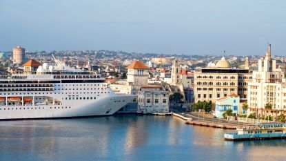 Geen cruises naar Cuba meer voor Amerikanen