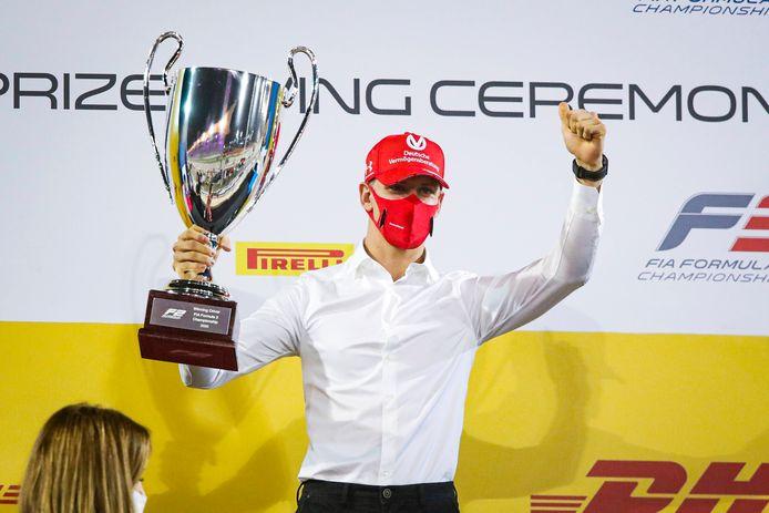 Mick Schumacher won dit jaar de Formule 2.