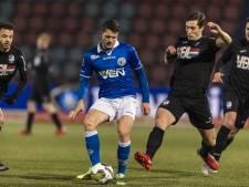 Oefenduel van FC Den Bosch met FC Eindhoven van de baan