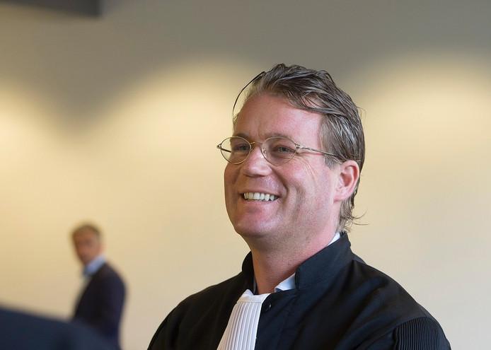 Danny Snijders, advocaat van De Graafschap.