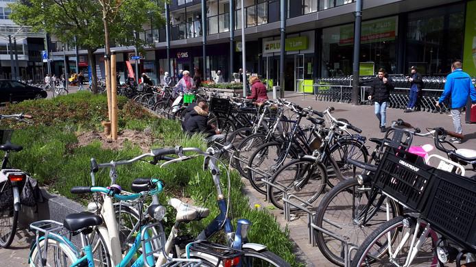 De Fietsersbond baalt er van als meer ruimte voor groen in De Bieshof ten koste van de fiets gaat.